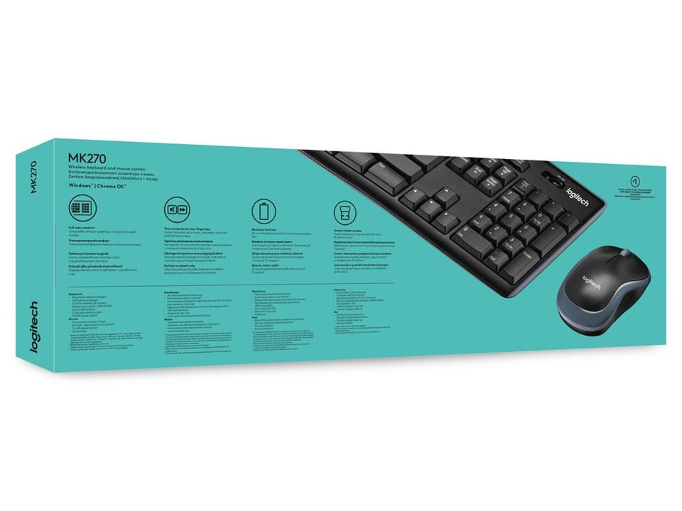 LOGITECH Wireless Combo MK270 Mouse + Keyboard – Dataprodukter.se ... e927cd498e05f
